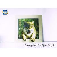 Buy cheap 0.9mm PET 3D / 5D Pictures Dinosaur Image 40x40cm Size For Decoration from wholesalers