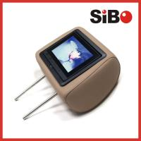 7 Inch Rear Seat Headrest Monitor Taxi Advertising Touch Screen With 3G Manufactures