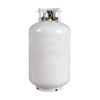 Buy cheap refillable bottled 30 LB lpg gas tank gas cylinder from wholesalers