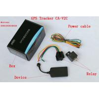 Buy cheap High Sensitivity Car GPS Tracker With Three Colors LED Display , ACC Detection from wholesalers