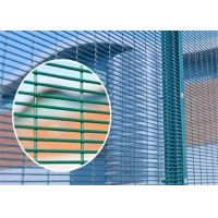 Buy cheap 12.7*76.2mm Hole Anti-Climb Welded Mesh Panel Fence from wholesalers