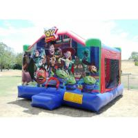 Buy cheap Cartoon Themed 0.55mm PVC Inflatable Bounce House / Indoor Jumping House from wholesalers