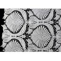 Buy cheap Heavy Embroidey Polyester Lace Fabric With French Venice Guipure DTM Azo Free from wholesalers