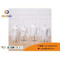 Buy cheap Half Body Shop Display Fittings Upper Body Male Female Torso Mannequin product