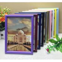 Buy cheap PVC plastic hand-make high quality photo frame with different color available from wholesalers