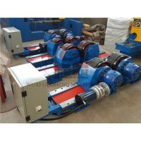 Bolt Adjustable type Pipe Welding Rotator with Siemens DC Motor / Pipe Rotators for Welding Manufactures