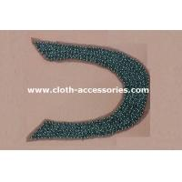 Wholesale SGS approved Big U Shape Bead Trim / 46g Midi Dress Garment Trimmings from china suppliers