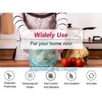 Buy cheap Reusable Leakproof Zipper Preservation Airtight sandwich Ziplock Cooking Fresh Zip Large Silicone Storage Food Bags With from wholesalers