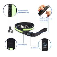 Buy cheap Custom Printed Small Dog Leads Leash Nylon Safety Led Flashing Strong from wholesalers