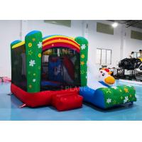 Buy cheap Family Mini Inflatable Bounce House For Backyard Rainbow Color from wholesalers