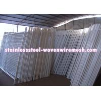 Buy cheap White Vinyl Coated Welded Wire Mesh Fencing Metal Mesh Fence Oxidation Resistance from wholesalers