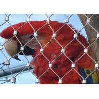 Buy cheap Silver Bird Cage Wire Mesh Stainless Steel Antirust With Fatigue Resistance product