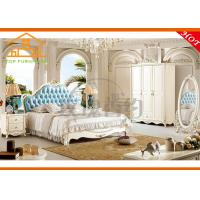 Buy cheap antique Adult double bed style cheap king size Home residential interior design double bed design bedroom furniture set from wholesalers