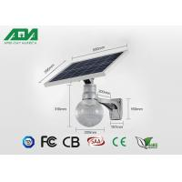 6500K 12W solar panel Outdoor LED Street Lights , led sun light solution high power Manufactures
