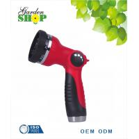 Buy cheap 8 Pattern Adjustable Water  Spray Hose Nozzle from wholesalers