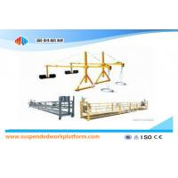 China Window Cleaning Rope Suspended Platform ZLP630  With Rated Load 630kg on sale