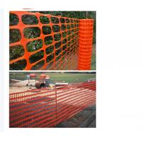 Buy cheap Superior Quality Durable Barricade Net Barrier Fence Plastic Safety Net from wholesalers