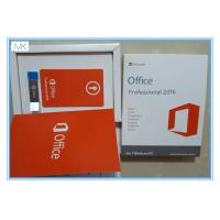 China Microsoft Windows Software / Microsoft Office 2016 Pro Plus For 1 Windows/PC Life Time on sale