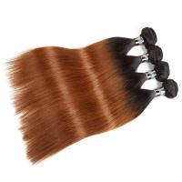 Buy cheap Comfortable 1B/30# Ombre Human Hair Extensions For Women CE BV SGS Approval product