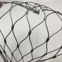 Wholesale Knotted Stainless Steel Aviary Mesh Poultry Netting Zoo Animal Rope Mesh from china suppliers