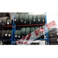 Buy cheap Double Layers Powder coated collapsible 1200kg loading truck tyre Warehouse Tyre Rack from wholesalers