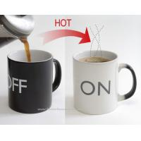 Buy cheap Perfect promotion Heat Sensitive Mug Color Changing Gift Cup from wholesalers