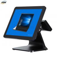 Buy cheap 400 CD/㎡ 15 Inch Electronic POS Systems Intel Cerelon I5 CPU For Clothes Shop from wholesalers