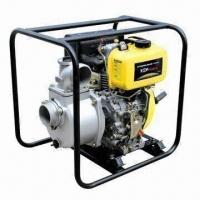 Buy cheap Standard 2-inch Water Pump with Diesel Engine, Self-priming and Big Fuel Tank for Longer Time Use from wholesalers
