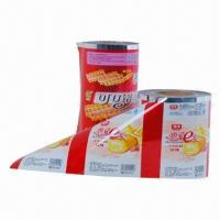 Buy cheap BOPP Lamination Film, Food-grade Laminated Flexible Packing for Various Food, Good Barrier from wholesalers