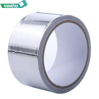Buy cheap Heat Resistant Aluminum Foil Tape Acrylic Solvent Silver Color Waterproof Performance from wholesalers