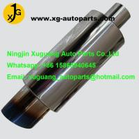 Wholesale polished muffler tip tailpipe exhaust muffler stainless steel car muffler silencer from china suppliers