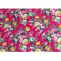 Buy cheap Floral Patterned Canvas Fabric Polyester / Floral Print Fabrics from wholesalers