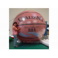 Wholesale Customized Inflatable Basketball Sports Themed Balloons Weather - Resistant from china suppliers