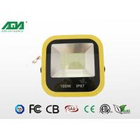 Professional High Power Waterproof 100w Outdoor LED Flood Lights 2800-3300K ,  6000-6500k Manufactures