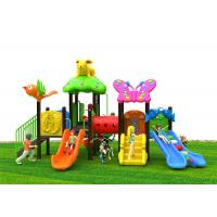 Buy cheap Modular Plastic Play House With Slide , Large Size Plastic Outdoor Slide Set from wholesalers