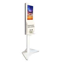 Buy cheap Hand Sanitizer 230W 450cd/m2 21 Lcd Digital Signage Totem from wholesalers
