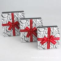 Buy cheap Paper Gift Box, Cardboard Chocolate Packaging Boxes With Ribbon 5 * 5 * 3 Inch from wholesalers
