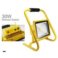 China 6000K Dimmable Portable Sports Floodlights 5W -30W  , Battery Powered Floodlight on sale