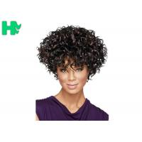 Full Head Elegant Fashion Short Cosplay Synthetic Hair Free Part Wig Manufactures