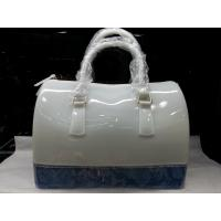 Buy cheap Tpu Office Lady Jelly Candy Handbag With Polyester Vogue Tote For Teenagers Party from wholesalers