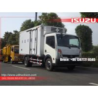 Buy cheap Nissan Refrigerator van trucks for frozen food fish and meat from wholesalers