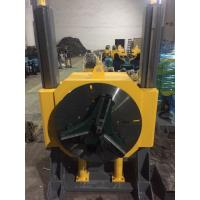 Wholesale Hydraulic Elevating Welding Turning Table With Chuck And Foot Panel , Heavy Duty from china suppliers