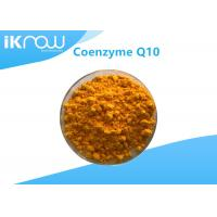 Buy cheap Supplement USP Grade Coenzyme Q10/COQ10 99.9% Cas 303 98 0 Orange crystalline powder from wholesalers