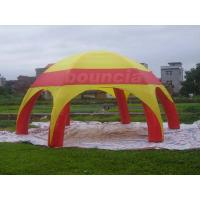Buy cheap PVC Tarpaulin Inflatable Airtight Dome Tent For Sale from wholesalers