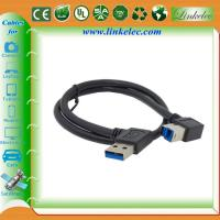 USB 3.0 Right Angle A to B Cable ,USB3.0 printer cable