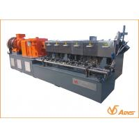 Buy cheap 500 - 1400kg / H  Twin Screw Extruder  PHL75 Model for materbatch data from wholesalers