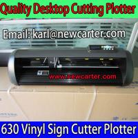 Buy cheap 24'' Inch Cutting plotter With Contour Cut 630 Vinyl Sign Cutter Plotter Car Bumper Cutter from wholesalers