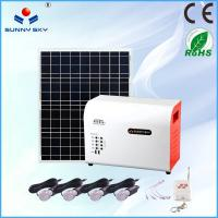 Buy cheap stand alone home solar systems solar panel system solar power system home solar lighting system solar generator 220v por from wholesalers