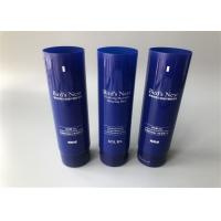Buy cheap Dark Blue Custom Lipstick Tubes / Empty Lipstick Cases With Flip Top Cap 80g from wholesalers
