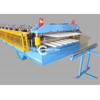 Buy cheap Color Steel Profile Glazed Roof Tile Roll Forming Machine For Zinc Sheet from wholesalers